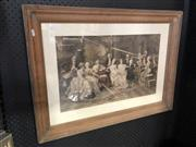 Sale 8779 - Lot 2065 - Mozart Styled Engraving