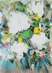 Sale 8819 - Lot 2060 - Denise Barry - Butterflies and Foliage 47.5 x 35cm