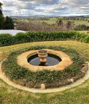 Sale 9005H - Lot 2 - A campana shaped garden pot with lobed decoration. H-43cm W-60cm