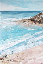 Sale 9034A - Lot 5064 - Cheryl Cusick - Bayside 152 x 102 cm (stretched and ready to hang)