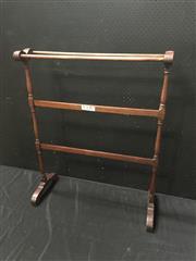 Sale 9051 - Lot 1095 - Mahogany Towel Rail