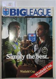 Sale 8404S - Lot 17 - 1991 Big League Grand Final Programme, Sept 22 (Vol.72, No.31), Penrith v Canberra