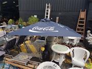 Sale 8601 - Lot 1252 - Coca Cola Outdoor Umbrella Shade (New)