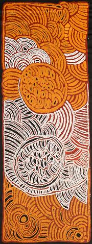 Sale 8624 - Lot 599 - Tjawina Porter (1950 - ) - Womens Ceremony 149 x 58cm