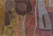 Sale 8738 - Lot 541 - Helen McCarthy (1972 - ) - Wutunggi (Spirit of Grandpas Canoe), 2009 100cm x 146cm