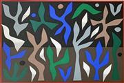 Sale 8715A - Lot 5017 - John Coburn (1925 - 2006) - Winter, 1988 74.5 x 55cm