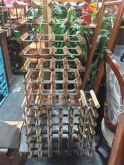 Sale 8822 - Lot 1711 - Pair of Wine Racks