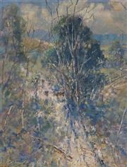 Sale 8980A - Lot 5028 - Reginald Rowe (1916 - 2010) - Exeter Pastoral Scene 44 x 34 cm (frame: 60 x 50 x 4 cm)