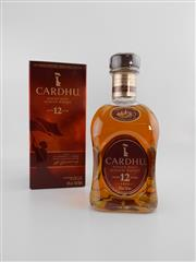 Sale 8498 - Lot 1723 - 1x Cardhu 12YO Single Malt Scotch Whisky - 700ml in box