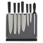 Sale 8795B - Lot 7 - Laguiole Louis Thiers 7-Piece Knife Set with Magnetic Block
