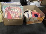 Sale 8819 - Lot 2329 - 2 Boxes of Rock & Pop Records, LPs & 45s incl Donovan & Eartha Kit