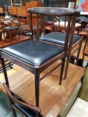 Sale 8930 - Lot 1099 - Set of Four Danish Aformosa Teak Chairs