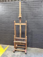 Sale 8988 - Lot 1002 - Large Timber Artists Easel (H: 240cm)