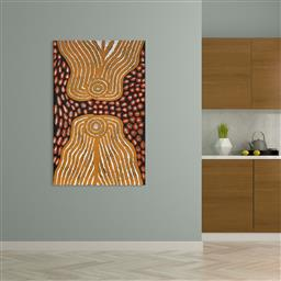 Sale 9128A - Lot 5059 - Nola Bennett - Irriya 152 x 95 cm (stretched and ready to hang)