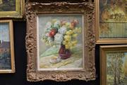 Sale 8410T - Lot 2009 - Millican (XX) - Floral Still Life 60 x 49cm
