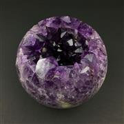 Sale 8567 - Lot 676 - Amethyst Geode Sphere, Brazil