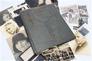Sale 8733 - Lot 39 - Dunninghams Scrapbook 1928-9