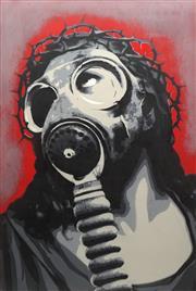 Sale 8773 - Lot 585 - Luke Cornish (E.L.K.) - Wake Up, 2011 118 x 79cm
