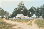 Sale 8781A - Lot 5077 - Eric McGraffin (1947 - ) - Neighbours 60.5 x 90.5cm