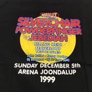 Sale 8893M - Lot 93 - Rock It 1999 Tee Shirt feat. Powderfinger, Silverchair etc on back, size XL