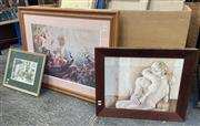 Sale 9082 - Lot 2051 - Collection of framed prints