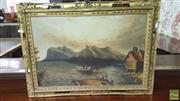 Sale 8375 - Lot 1014 - View in Canada, Oil on Board, signed and dated 1869 to verso