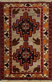 Sale 8406C - Lot 22 - Persian Baluchi 140cm x 90cm