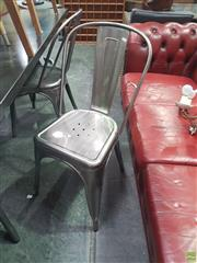 Sale 8648C - Lot 1062 - A set of four Tolix style chairs - as new