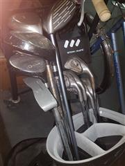Sale 8663 - Lot 2184 - Complete Set of PING Irons incl Other Drivers Trundler & Putter