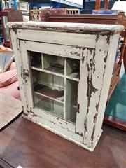 Sale 8744 - Lot 1074 - Small Rustic Cabinet