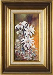 Sale 8779 - Lot 2037 - E Frazer - Wild Flowers 24 x 13cm