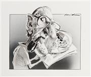 Sale 8883A - Lot 5010 - Bill Leak (1956 - 2017) - Frank Hardy 25 x 28 cm