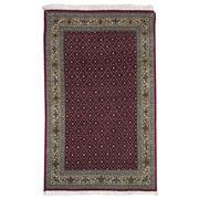 Sale 8911C - Lot 70 - Persian Fine 50 Raj Tabriz Rug, 130x80cm, Silk & Wool Inlaid