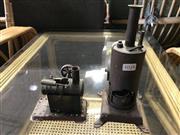 Sale 9022 - Lot 1024 - Copper Vintage Steam Engines x 2