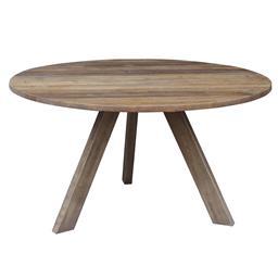 Sale 9250T - Lot 35 - An old elm circular table with three legs. Height 76cm x Width 140cm x Depth 140cm