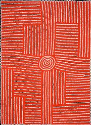 Sale 8301A - Lot 61 - Walala Tjapaltjarri (1960 - ) - Tingari 95 x 70cm