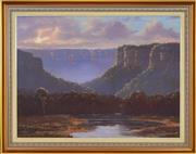 Sale 8339A - Lot 547 - David Brayshaw (1960 - ) - Blackheath Walls, NSW, 1982 70 x 95.5cm