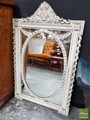 Sale 8465 - Lot 1010 - Carved Timber Framed Mirror