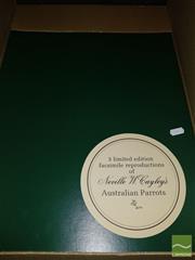 Sale 8544 - Lot 2061 - NEVILLE W CAYLEY (FOLIO) AUSTRALIAN PARROTS