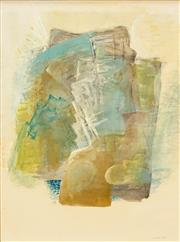 Sale 8573 - Lot 2005 - Michael Noble (1919 - 1993) - Abstract, 1968 52 x 38cm