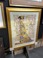 Sale 8888 - Lot 2020 - Gustav Klimt Decorative Print 104 x 85cm (frame)