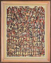 Sale 8344 - Lot 512 - Rodney Milgate (1934 - 2015) - Oratory, 1969 60 x 45cm