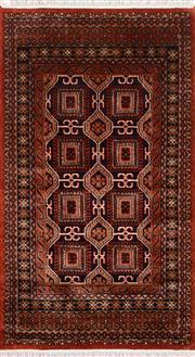 Sale 8390C - Lot 17 - Kashmiri Woolen Rug 160cm x 90cm