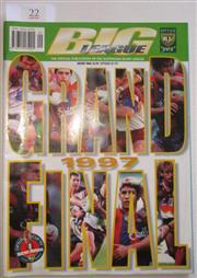 Sale 8404S - Lot 22 - 1997 Big League Grand Final Programme, Sept 28 (Vol.78), Manly v Newcastle