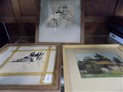 Sale 8441T - Lot 2094 - Framed Artworks (3)
