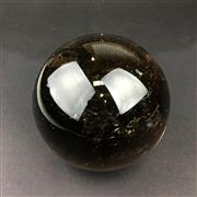Sale 8567 - Lot 679 - Smokey Quartz Sphere, Brazil