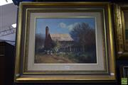 Sale 8569 - Lot 2001 - Chris Huber - Country Cottage 59 x 69cm (frame)