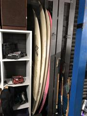 Sale 8819 - Lot 2227 - Collection of 4 Surfboards