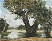 Sale 8856 - Lot 2071 - Erik Andersen - On the Murrumbidgee, oil on canvas, SLL, 39.5 x 49.5 cm