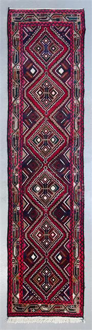Sale 8480C - Lot 70 - Persian Hamadan Runner 310cm x 75cm